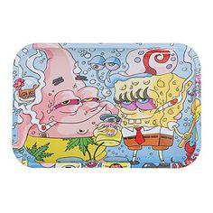 Stoned SpongeBob Rolling Tray