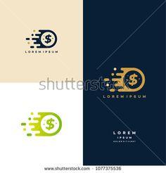 Fast Coin Logo designs concept vector, Fast Cash logo template, Money logo designs Logos, Logo Branding, Branding Design, Logo Design, Fast Logo, Banks Logo, Money Logo, Coin Logo, Credit Card Readers
