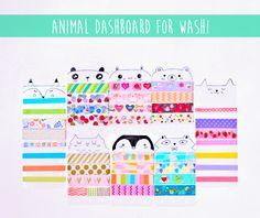 Animal Dashboard for Washi  https://www.etsy.com/listing/211840227/animal-dashboard-for-washi?ref=shop_home_active_1