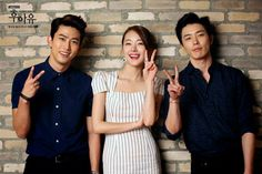 Checking in on Kim Jae Wook and the Surprisingly Decent Who Are You | A Koala's Playground How happy is she between these two lovely guys.