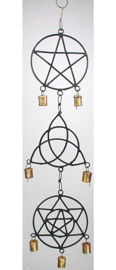 A beautiful Wind Chime- A great addition to your home, garden, or porch! Let the wind bring magic to your ears!