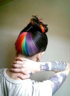 Nuca arco-iris