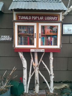 Little Free Library, downtown Tumalo, Oregon