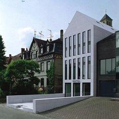 """Max Dudler Architekt - Hotel """"Quartier 65"""" Mainz."""