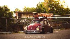 Out of Style & Always Broke – Brent Favreau's 1961 Ragtop Volkswagen Beetle Beetle Bug, Vw Beetles, Car Breaks, Great Ads, Vw Cars, Volkswagen Bus, Love Car, Roof Rack, Find Picture