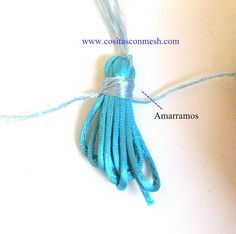 Imagen 0 Casual, Diy, Ideas, Paper, Crafts To Make, Recycled Crafts, How To Make Tassels, Bullion Embroidery, Garlands
