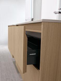 CASABATH - HiTech 2 Collection Minimalist Bathroom, Contemporary Bathrooms, Cabinet Design, Bathroom Furniture, Joinery, Furniture Making, Powder Room, Toilet, Drawers