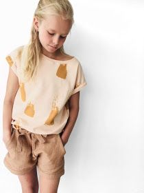 tintin iris may Sewing Patterns For Kids, Sewing For Kids, Diy For Kids, Little Girl Fashion, Fashion Kids, Kids Pants, Baby Kids Clothes, Little Dresses, Kind Mode
