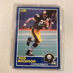 f5073261e Steelers Rod Woodson Rookie Card
