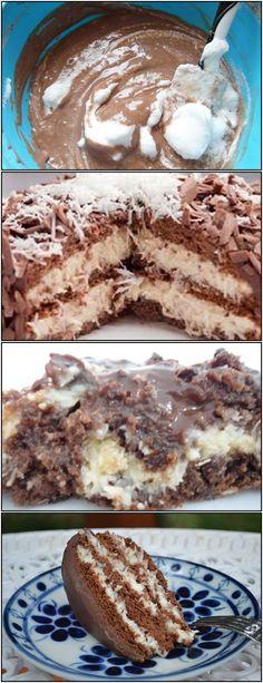 ESSA RECEITA É SUPER FÁCIL E RÁPIDO PARA PREPARAR!! VEJA AQUI>>>Bata as gemas com o açúcar, coloque aos poucos o leite com a farinha #receita#bolo#torta#doce#sobremesa#aniversario#pudim#mousse#pave#Cheesecake#chocolate#confeitaria