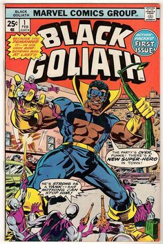 BLACK GOLIATH 1! VG/FN 5.0! COOL MARVEL BRONZE AGE COMIC BOOK! http://united-kingdom-guide.info/dk/ge/?query=391288914234…