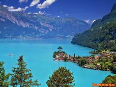 Lake Brienz, Switzerland, one of the most beautiful places I've ever seen!