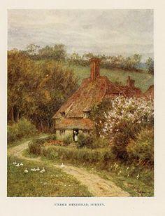 Under Hindhead, Surrey - Helen Allingham