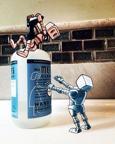 March of Robots Day 5, Steve Talkowski on ArtStation at https://www.artstation.com/artwork/KEoRy