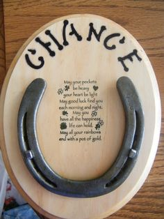 Lucky Horse shoe by Luckyhorseshoes2013 on Etsy, $12.00