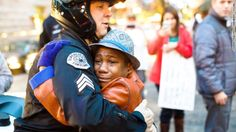 """It's the picture we needed to see after a week like this.  """"I really believe in my heart that this is what most people want — to find the common good in all people and find things we can agree on, not fight about."""""""