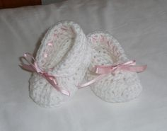 Cuffed Slippers for baby - Free pattern