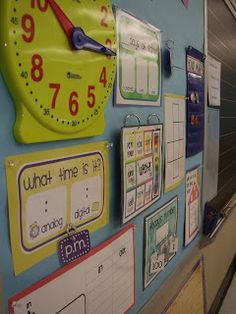 Primary Inspired: Math In Focus wall