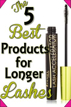 5 Products for Longer Lashes