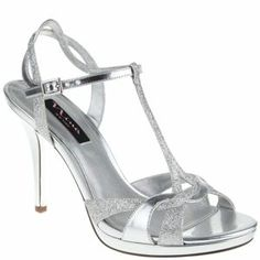 Silver 3 Inch Heels