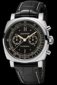 Panerai Radiomir 1940 Chronograph Oro Bianco PAM520 www.ChronoSales.com for all your luxury watch needs, sign up for our free newsletter, the new way to buy and sell luxury watches on the internet. #ChronoSales
