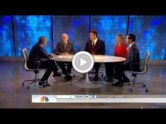 Tony Robbins, Warren Buffett, and Sara Blakely on The Today Show discussing the economy