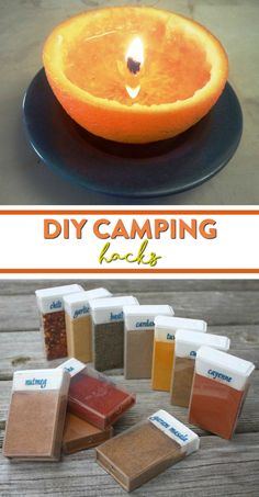 Lucky for you through the years I've picked up some pretty coolDIY Camping Hacks that you'll find very useful. Some of these ideas I haven't even heard of, but some of them I can't live without.