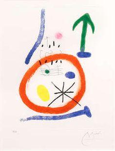 Chemin de Ronde III, 1966 Joan Miro