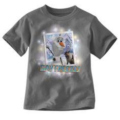 """Disney Frozen Olaf """"Say Freeze!"""" Tee - Boys 4-7  SHOP KOHLS"""