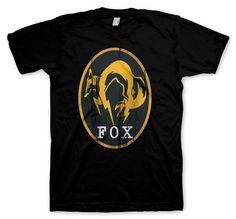 Camiseta FOX Engine. Metal Gear Solid V  Ground Zeroes Chulísima camiseta  de manga corta 4ccf2e1a8ecca
