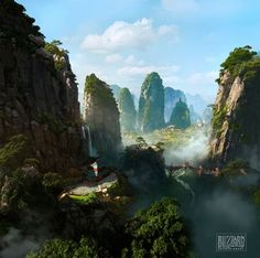 chinese valley