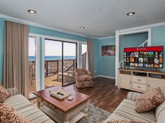 Our Beach home in Seagrove, Florida along Scenic Highway 30a.  We rent!