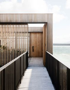 The Design Files: Bunker Down In This Arresting Australian Beach House A home that offers seclusion and connection in equal measure, on the NSW coast, by Clayton Orszaczky architects. Australian Beach, Australian Architecture, House Architecture, Sustainable Architecture, Residential Architecture, The Design Files, Architectural Digest, Architectural Styles, Beach House Decor