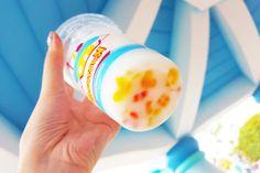 yup, mickey shaped tapioca pearls at tokyo disneyland
