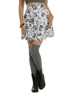 Doctor Who Her Universe Tonal TARDIS Skirt | Hot Topic  (Not sure if I need an M or L. M? Maybe?)