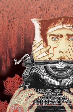 Writing a thriller / Escribiendo una novela negra (ilustració de Yuko Shimizu)