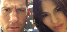 The Punisher & Elektra Strike A Pose At NYCC