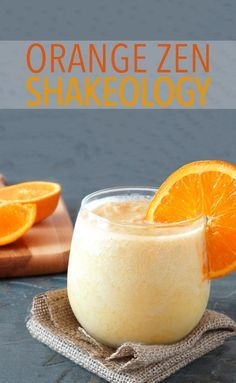Orange Zen Shakeology - Made with orange juice and green tea, this is just the drink you need to start your day energized and refreshed. // greenberry // recipes // beverages // breakfasts // snacks // healthy // clean // morning ideas // quick // easy // beachbody // beachbody blog