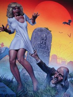 Uncle Creepy, by Richard Corben Zombie Kunst, Arte Zombie, Zombie Art, Dark Fantasy Art, Fantasy Artwork, Dark Art, Bd Comics, Horror Comics, Arte Pulp Fiction