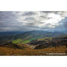 La valle del vento, nel comune di Meldola (FC) - Instagram by flavio_facibeni