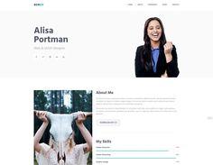 AceCV Free Portfolio Template, Professional Cv, Bootstrap Template, Designer, Web Design, Photoshop, Templates, Stencils, Professional Resume