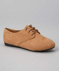Another great find on #zulily! Tan Karil Oxford #zulilyfinds
