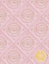 Pink & Gold Tiles