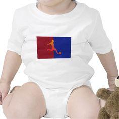 Soccer Baby Bodysuits  #Soccer #Sports #Tshirt #Tee