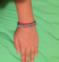 Reversible raindrop bracelet