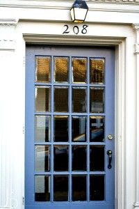 Periwinkle Color Front Door