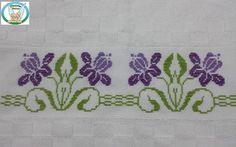 Cross Stitch Love, Cross Stitch Borders, Cross Stitching, Cross Stitch Patterns, Beaded Embroidery, Cross Stitch Embroidery, Hand Embroidery, Applique Designs, Embroidery Designs