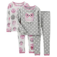 Just One You™ Made by Carter's Infant Toddler Girls' Ballerina Sleep Set - Pink