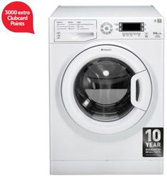 3000 extra Clubcard points with Hotpoint washer dryers Washer dryers with extra Clubcard points keep appearing at Tesco Direct. Here is another one:  Until 21st June you will get 3000 extra Clubcard poin...