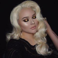 Nikkie Tutorials - blonde hair